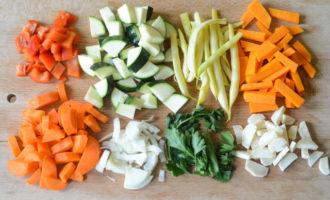 Овощная запеканка с гречкой