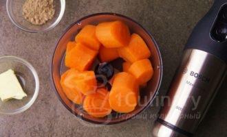 Пюре морковное